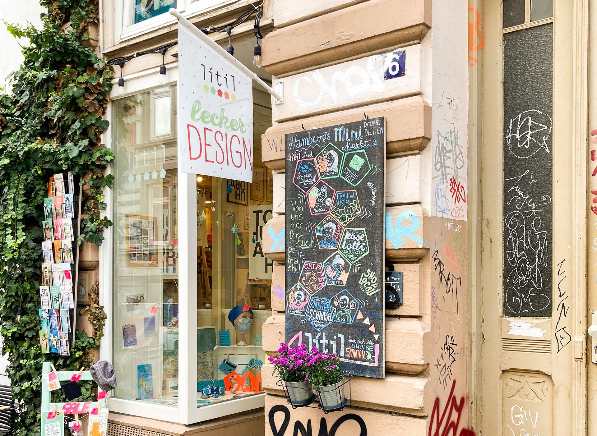 Über uns Litil Ladenfoto Kleine Rainstraße Hamburg Ottensen
