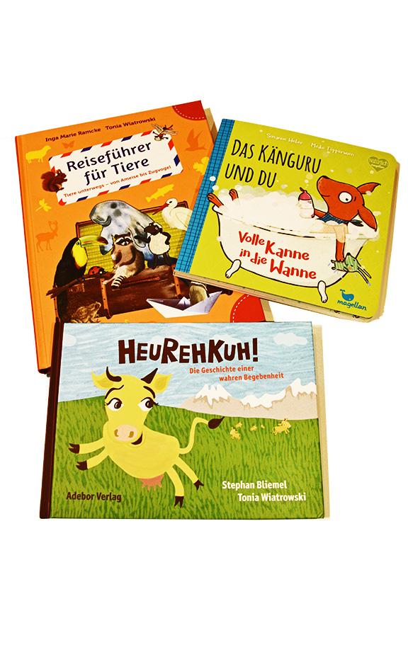 Kinderbücher Töpperwien Wiatrowski Ramcke